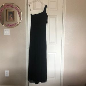 Black Grecian Styled formal gown